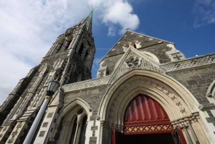 ChristChurch Anglican cathedral in Christchurch, New Zealand