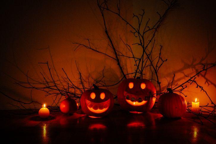 Funny take on Halloween Pumpkin