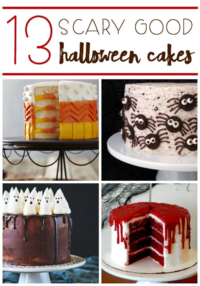 13 scary good halloween cakes - Fast And Easy Halloween Treats