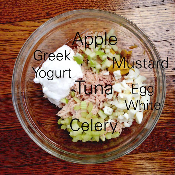 {Recipe} Greek Yogurt Tuna Salad
