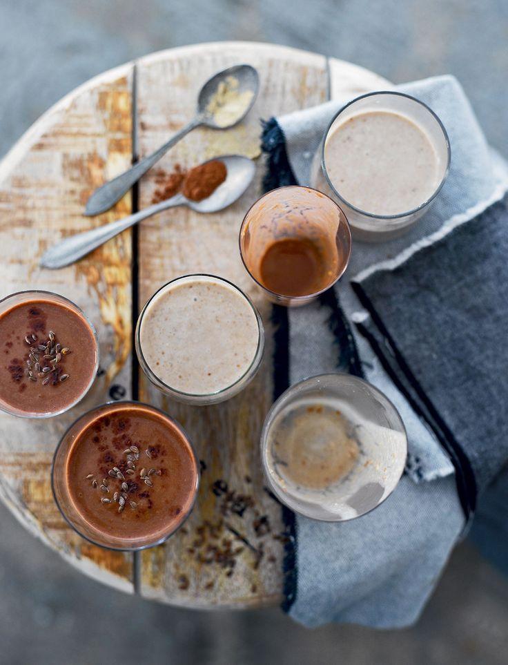 MAKEAT HERKUT TREENAAJALLE: Smoothie jokaiseen makuun – viherpirtelöt, makeat herkut ja antioksidantit