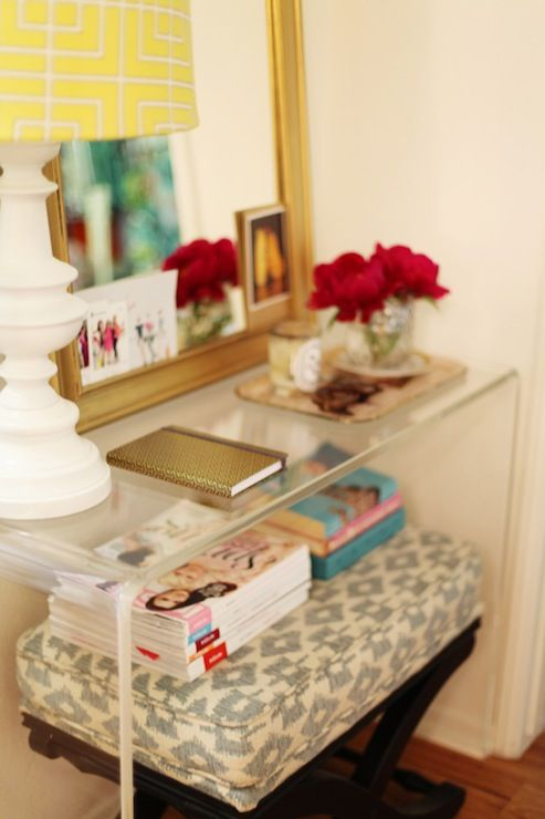 Foyer Seating Guide : Best lucite table ideas on pinterest acrylic