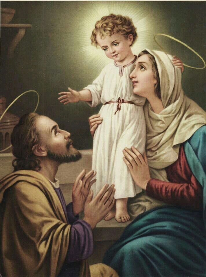 The Holy Family ~ Totus Tuus Maria