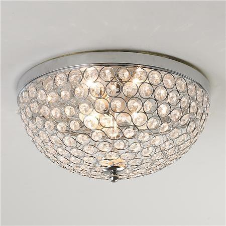 Crystal Jewel Ceiling Light - Shades of Light ($99) for Master Bedroom