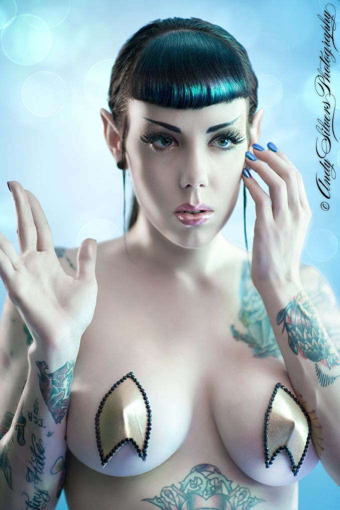 Live long and Prosper with Pasties on!  Location:	 Nashville, TN  Copyright:	 © Andy Silvers 2011