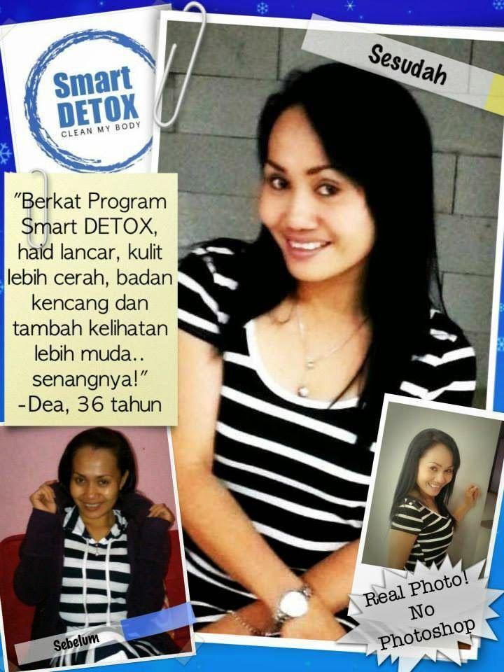 add pinBB 25EE460B Menurunkan berat badan - Mengecilkan perut buncit: Testimoni haid lancar kulit cerah dengan detox - Ibu Dea