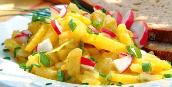 Rezept: Badischer Kartoffelsalat