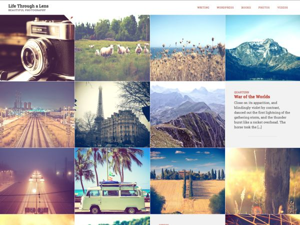 Lens Theme | WordPress.com