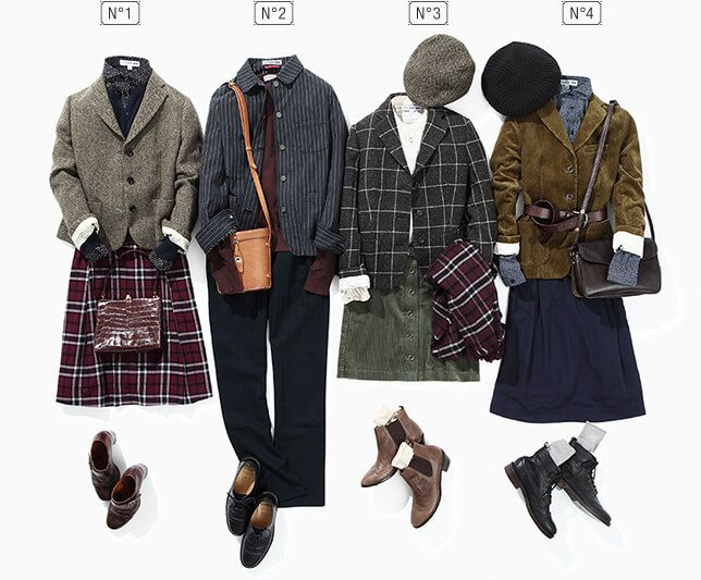 UNIQLO—Special Collaboration with Ines de la Fressange 2015 Fall and Winter Collection