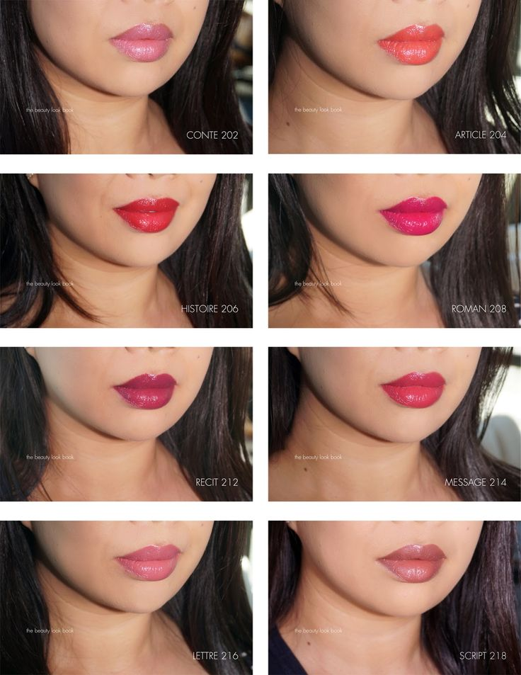 The Beauty Look Book: Chanel Rouge Coco Stylo Complete Care Lipshine. I love Roman and Message!