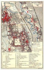 Batavia Map 1897