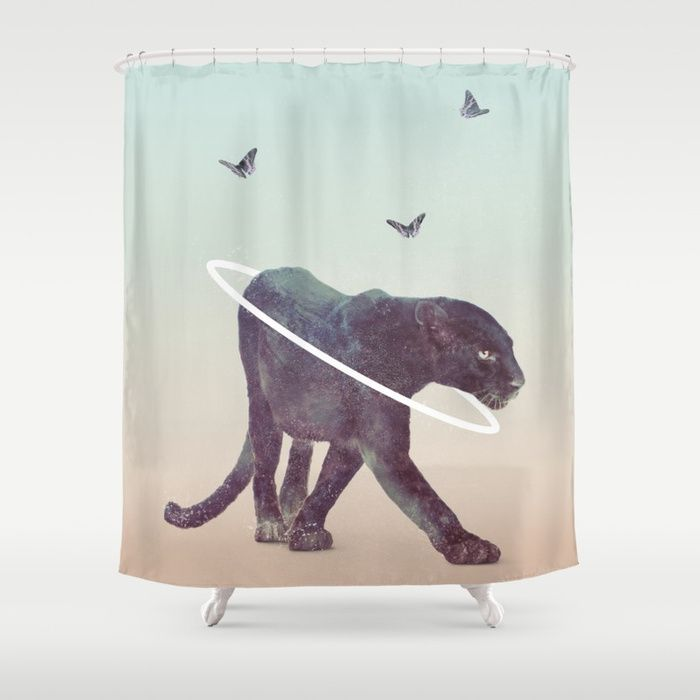 Buy Black Panther Shower Curtain By Taylordaniel Worldwide