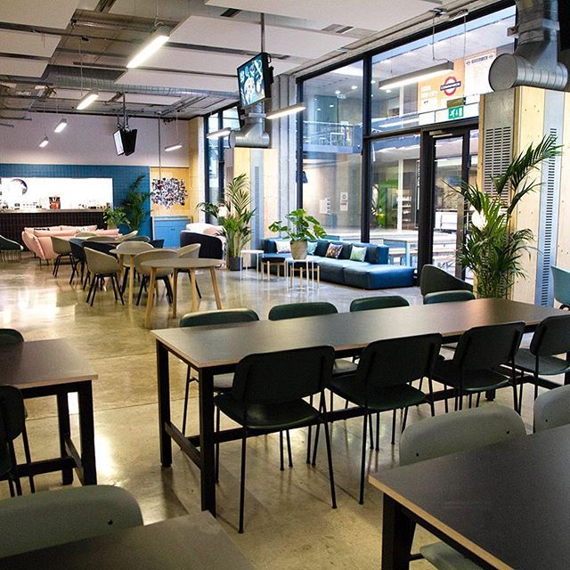 Central Saint Martins Canteen At Ual Interiors By Interior Casual Furniture Furniture