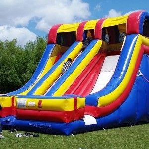 Accelerator Inflatable Slide