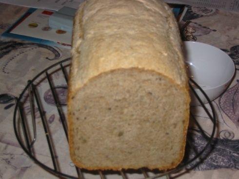 0051. kváskový chlebík od Mum - téměř celokváskový - recept pro domácí pekárnu