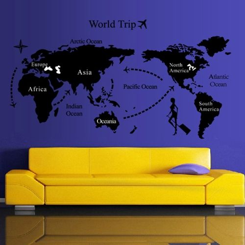 36 best Music Industry images on Pinterest Popular music, Music - fresh world map outline decal