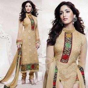 Salwar Kameez Neck Designs of Laces