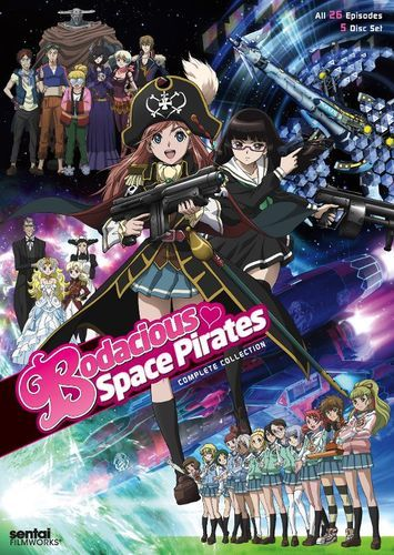 Bodacious Space Pirates: Complete Collection [5 Discs] [DVD]