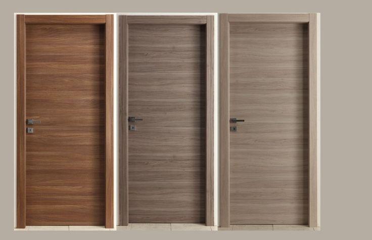 Interior doors Grey and Brown