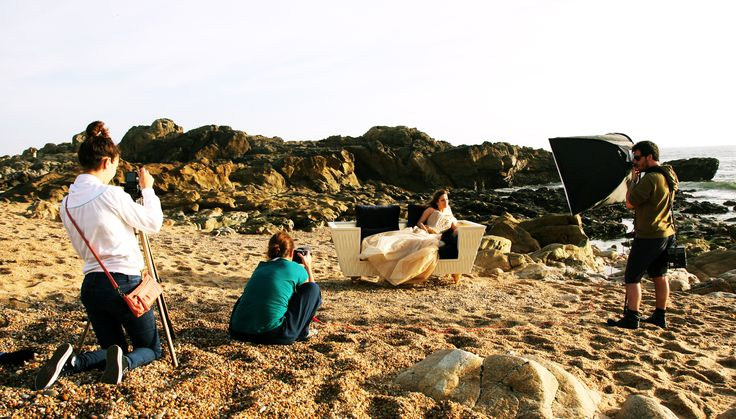 INSIDHERLAND   Between Waves Sofa by Joana Santos Barbosa photoshoot #beach #sun www.insidherland.com