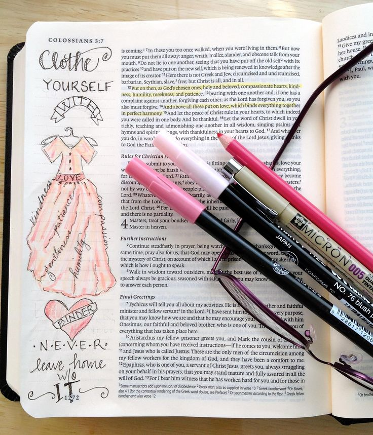 Created by: Lynne Lundy,  bible journaling, Journaling Bible, Art Bible, Margin bible journaling.