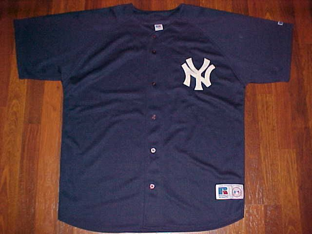 info for 99d74 727ce New York Yankees MLB AL East Russell Athletic Navy Blue ...