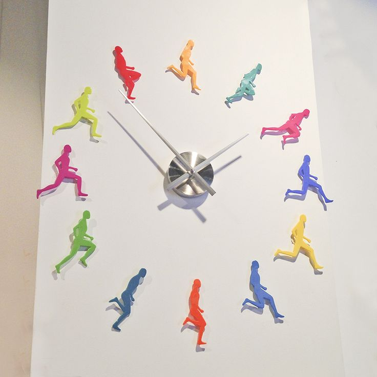 reloj de pared Pylones heroes time