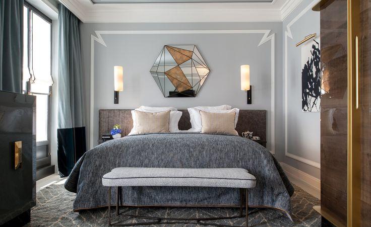 Master bedroom designed by Jean-Louis Deniot, top interior designer 2017