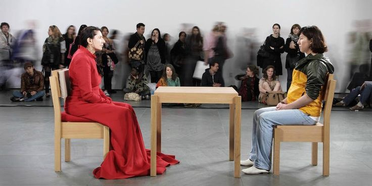 Marina Abramovic on Performance Art | We Are Not A Muse
