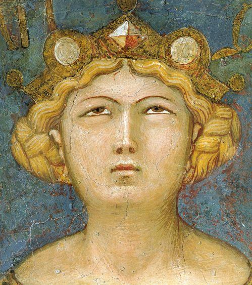 Ambrogio Lorenzetti - La Giustizia (Allegoria del Buon Governo) - affresco - 1338-1339 - Siena - Palazzo Pubblico, Sala dei Nove o Sala della Pace