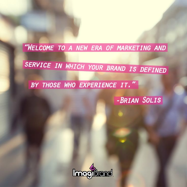"""""""Welcome to a new era of marketing and service in which your brand is defined by those who experience it."""" – Brian Solis #SM4Biz #quote #quoteoftheday  To learn more about social media for business --> http://imagibrand.com/social-media-for-business/  #socialmedia #smm #contentmarketing #contentstrategy #contentmarketingtips #socialmediamarketing #smmarketing #socialbranding #marketing #socialtip #socialmediatip #socialmediastrategy"""