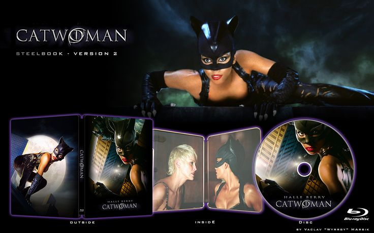 CATWOMAN - STEELBOOK -  Fan art  -V2