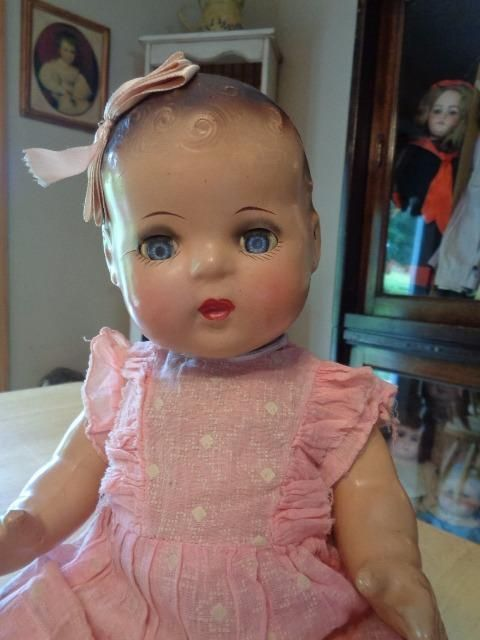 """Sweet Composition Doll For Repair/Restoration~17""""~ 