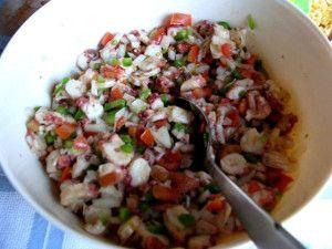 Salada de Polvo (Octopus Salad)