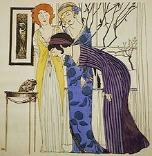 Like Vionnet, Paul Poiret freed women from corsets and created fashion through draping - Wikipedia, the free encyclopedia