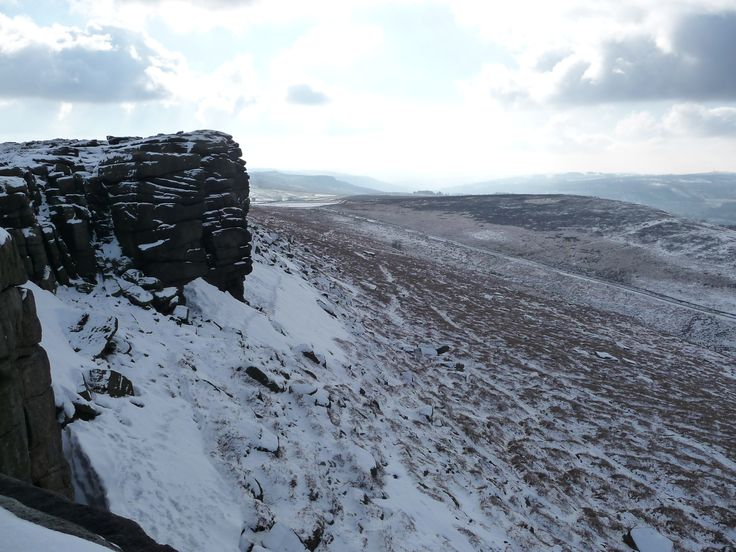 Winter on Stanage Edge