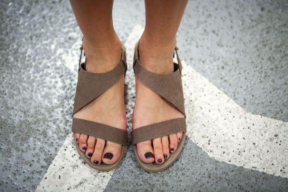 VERKOOP Strappy sandalen lederen sandalen handgemaakte