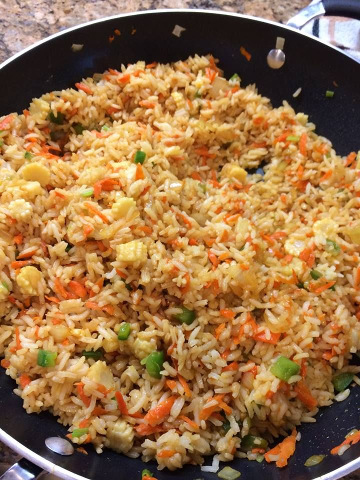 Really Good Chinese Food With Por Fried Rice
