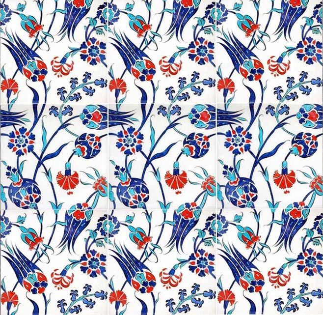 Best 25 turkish art ideas on pinterest turkish tiles for Azulejos de iznik