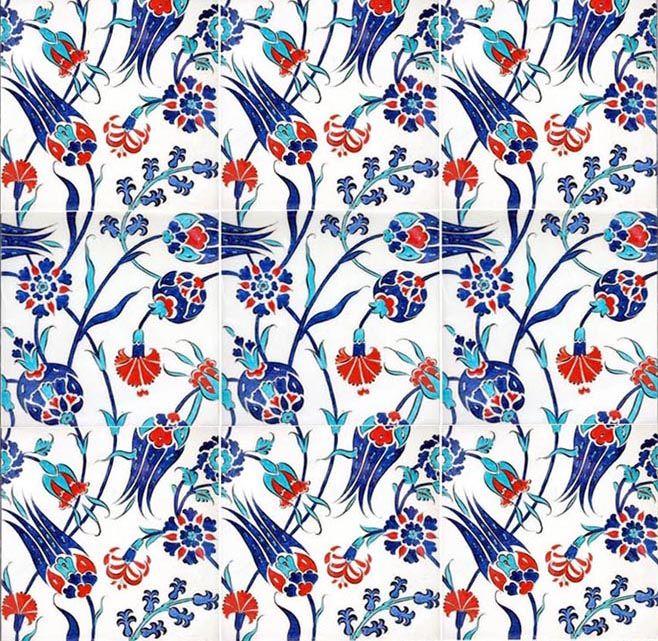 turkish tile art decoration