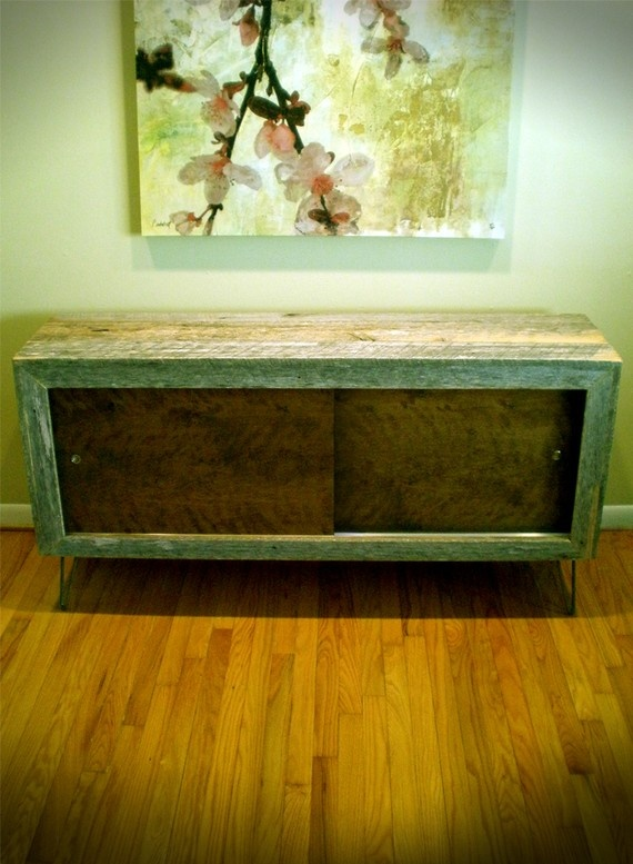 Barn-wood CredenzaWood Projects, Shabby Chic, Colors, Aaa Maz Credenzas, Bedrooms, Barnwood Credenzas, Barns Wood Credenzas, Barn Wood, Sliding Doors