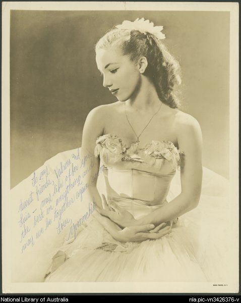 Yvonne Chouteau- A Cherokee ballerina from Vinita, Oklahoma who danced with the Ballet Russe de Monte Carlo and was one of the founders of the OU School of Dance. Beautiful.