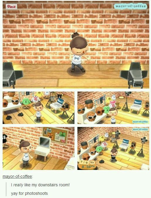 Acnl Basement Game Room