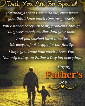 happy fathers day long message