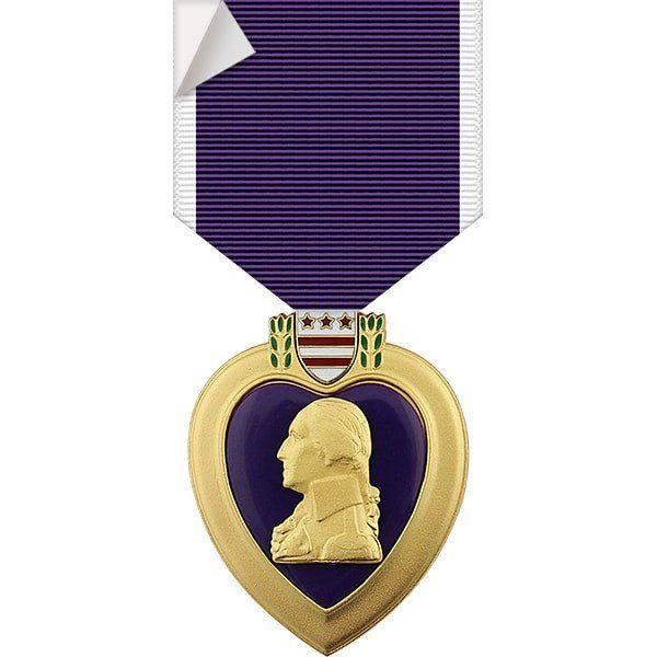 Purple Heart Medal Sticker