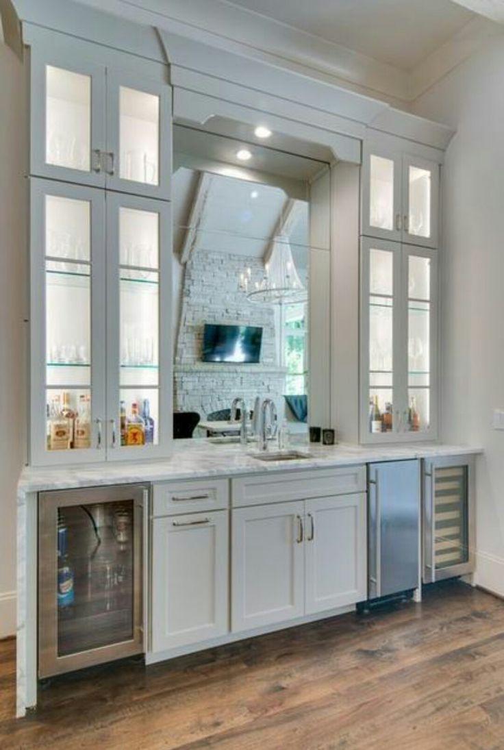 144 best Wine Station/ Bar Cart Etc. images on Pinterest | Kitchens ...