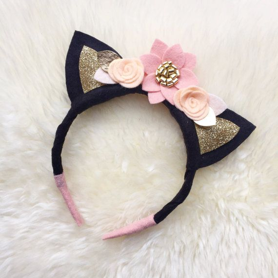 Hey, I found this really awesome Etsy listing at https://www.etsy.com/listing/400296407/kitty-cat-ears-felt-flower-crown