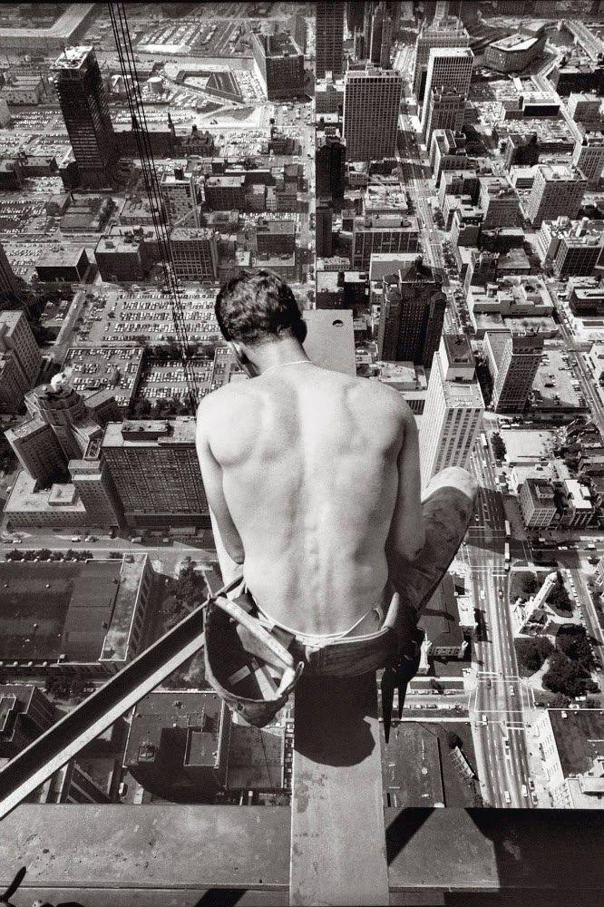 U.S. Iron Worker, Chicago, 1969