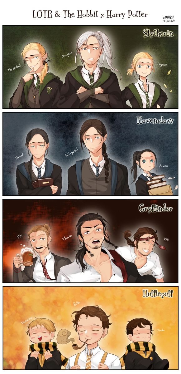 ВК и Хоббит в стиле Гарри Поттера