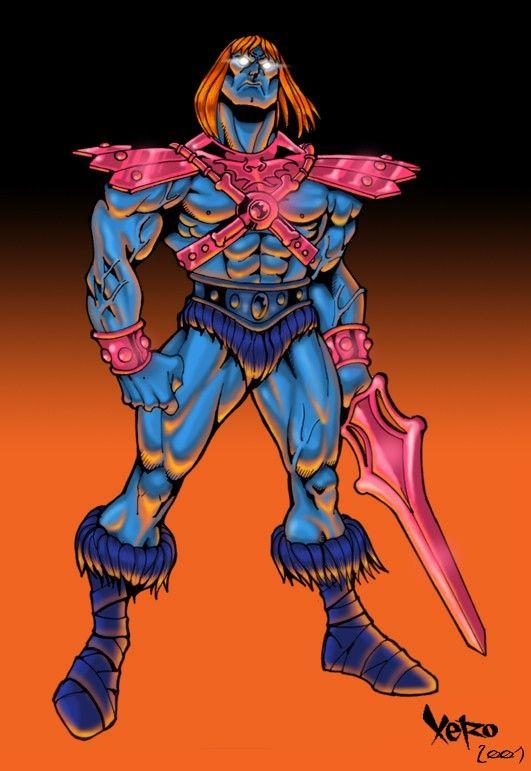 He-Man Villain: Faker   Masters of the Universe: Evil